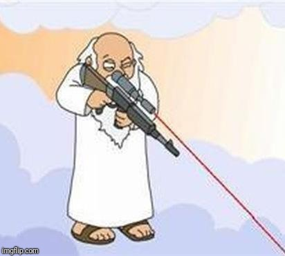 god sniper family guy | . | image tagged in god sniper family guy | made w/ Imgflip meme maker