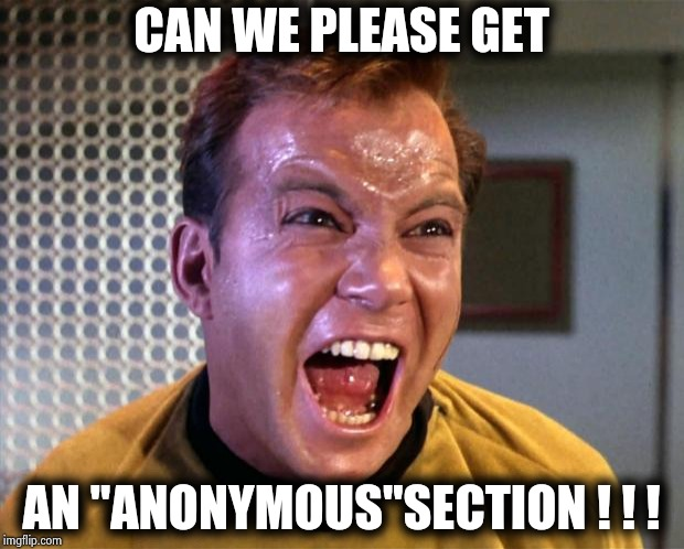 "We call can call it the ""Stupid"" section 
