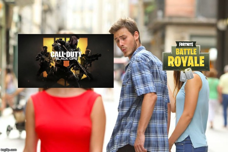 CODBO4 | image tagged in memes,distracted boyfriend | made w/ Imgflip meme maker