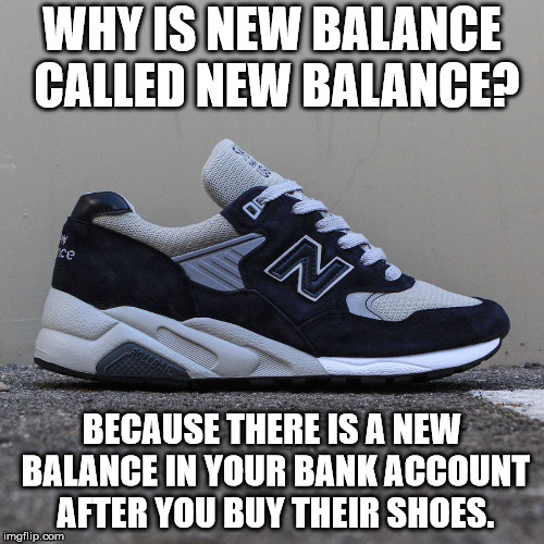 Why is New Balance called New Balance