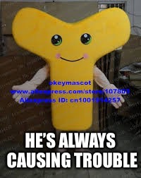 HE'S ALWAYS CAUSING TROUBLE | made w/ Imgflip meme maker