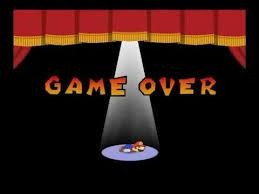 paper mario game over | . | image tagged in paper mario game over | made w/ Imgflip meme maker