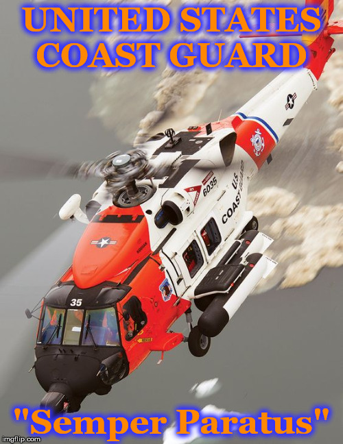"UNITED STATES COAST GUARD ""Semper Paratus"" 