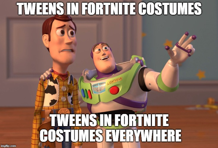 """So how was your Halloween?"" 