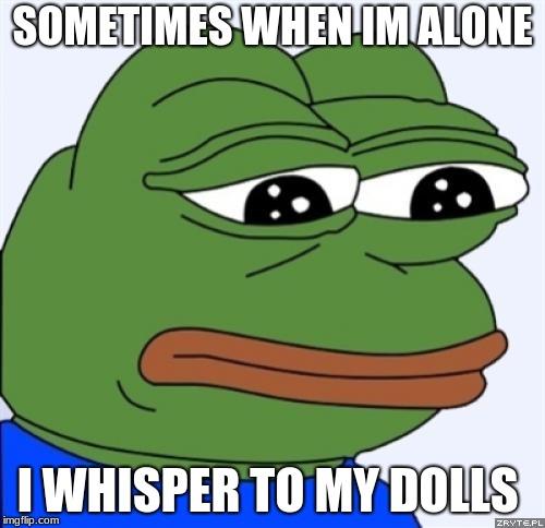 Sad Alone Memes: Sad Frog Images