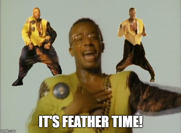 IT'S FEATHER TIME! | made w/ Imgflip meme maker