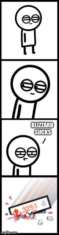 BLIZZARD SUCKS | image tagged in 3251 upvotes,gaming | made w/ Imgflip meme maker