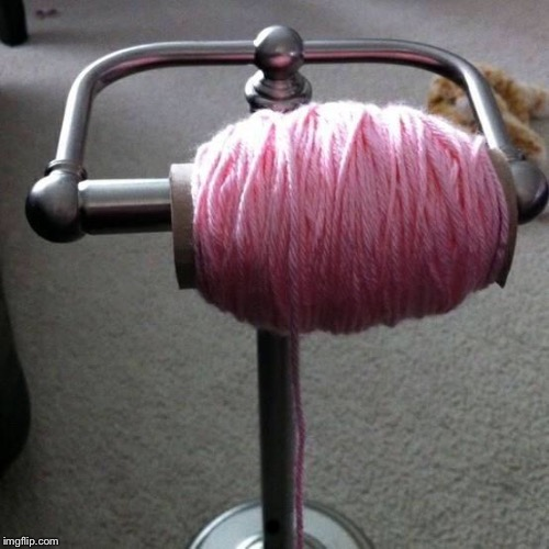 toilet paper yarn | . | image tagged in toilet paper yarn | made w/ Imgflip meme maker