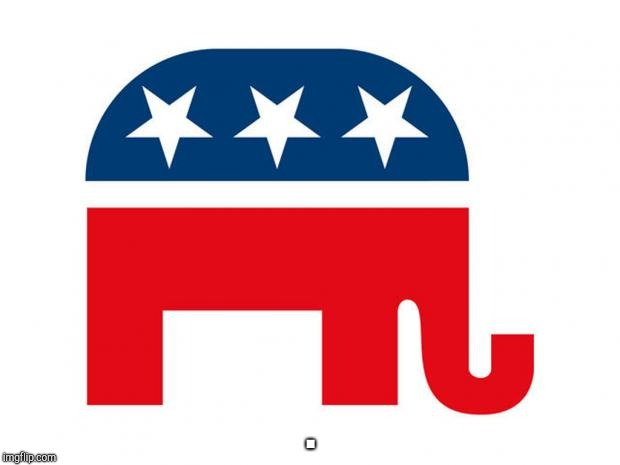 GOP LOGO | . | image tagged in gop logo | made w/ Imgflip meme maker