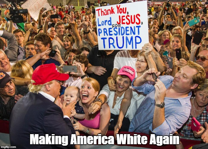"""Making America White Again"" 