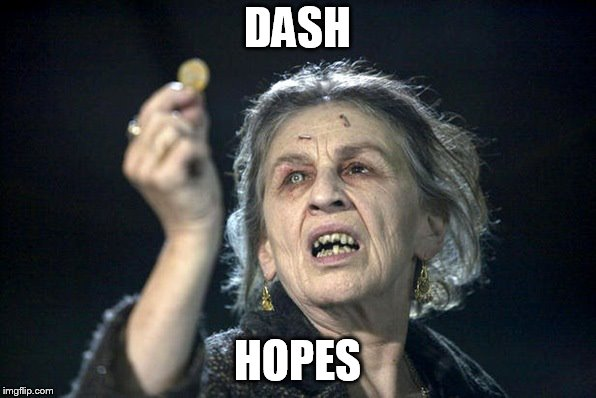 Gypsy curse | DASH HOPES | image tagged in gypsy curse | made w/ Imgflip meme maker