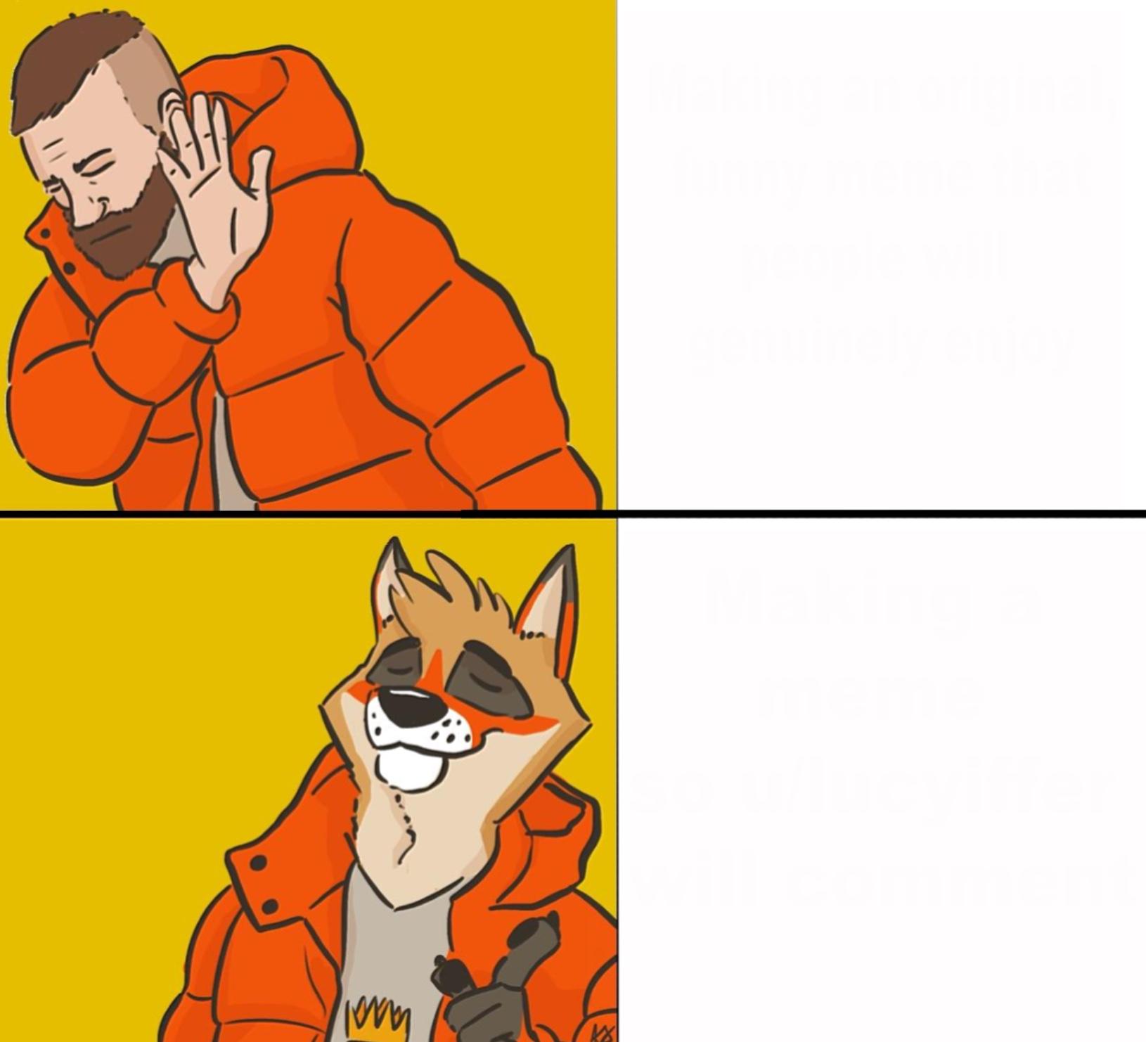 Furry Drake Meme Generator - Imgflip