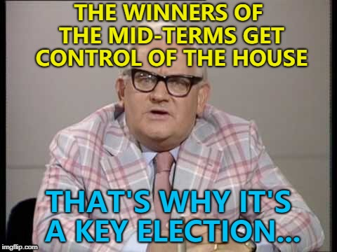 "Saw a headline that said ""Americans vote in key election"" and so... :) 