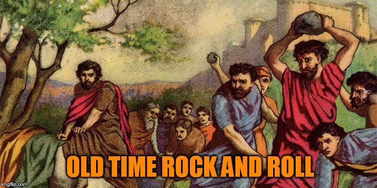 OLD TIME ROCK AND ROLL | made w/ Imgflip meme maker