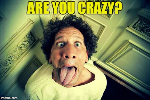 ARE YOU CRAZY? | made w/ Imgflip meme maker
