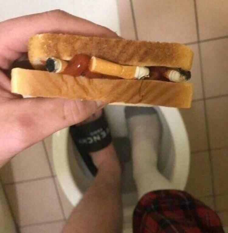 cigarette sandwich blank template imgflip