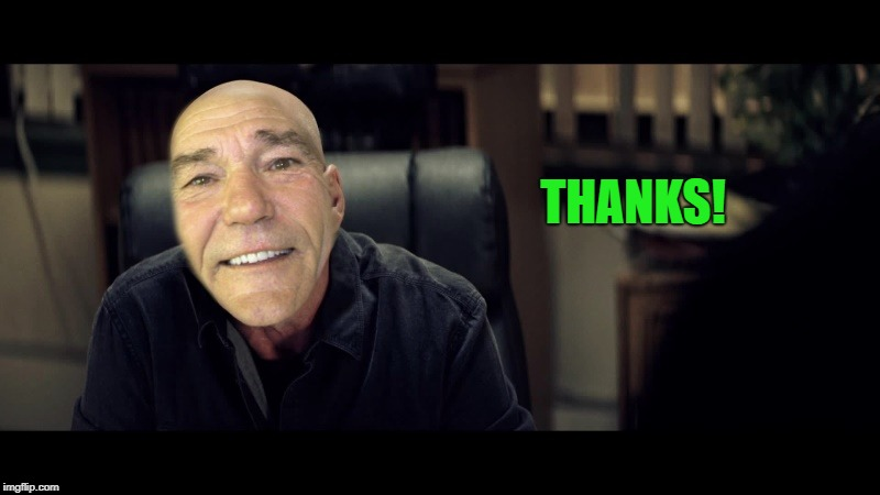 THANKS! | image tagged in kewlew | made w/ Imgflip meme maker
