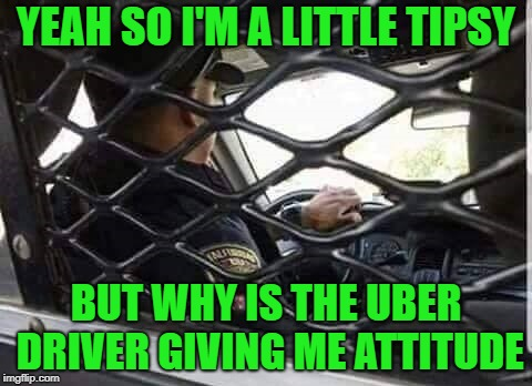 "At least the ""ride"" is free! 