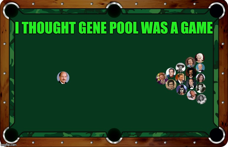 I THOUGHT GENE POOL WAS A GAME | made w/ Imgflip meme maker