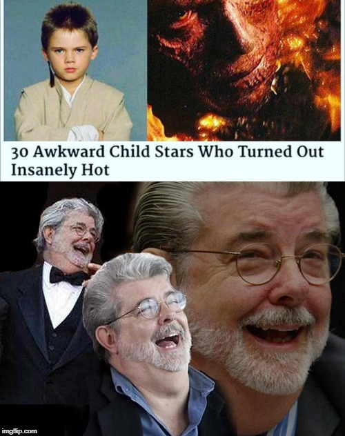 This is too much...#StarWarsPrequels | image tagged in memes,funny,star wars,star wars prequels,anakin skywalker,revenge of the sith | made w/ Imgflip meme maker