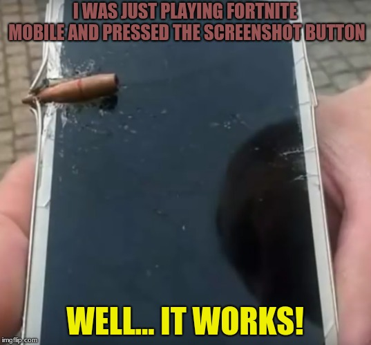 "Brings New Meaning To The Phrase ""screen Shot"" 