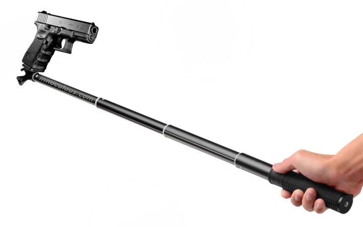 selfie stick gun blank template imgflip