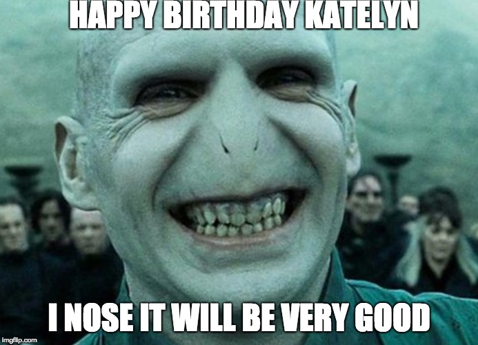 Voldemort Happy B Day