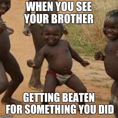Third World Success Kid Meme - Imgflip