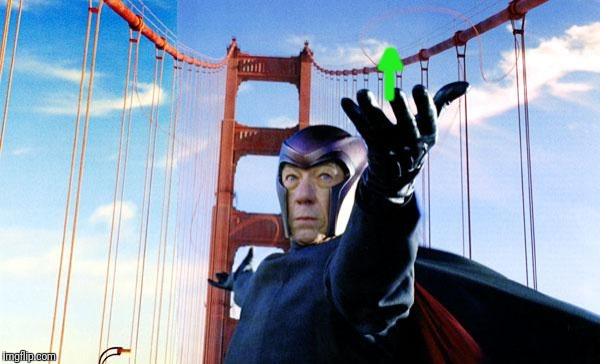 Magneto lift | | ^ | image tagged in magneto lift | made w/ Imgflip meme maker
