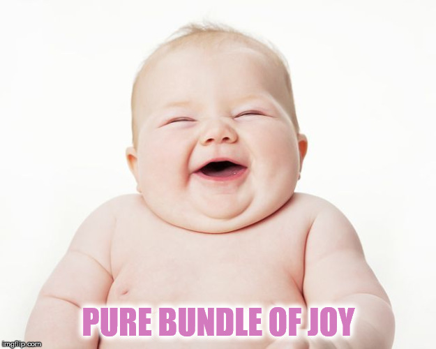 PURE BUNDLE OF JOY | made w/ Imgflip meme maker