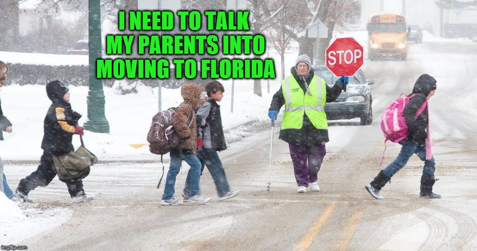 I NEED TO TALK MY PARENTS INTO MOVING TO FLORIDA | made w/ Imgflip meme maker