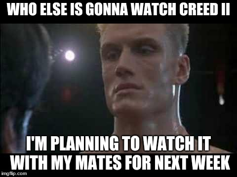 "I need to follow the series but not watching that horrible ""Rocky Balboa"" movie remake 