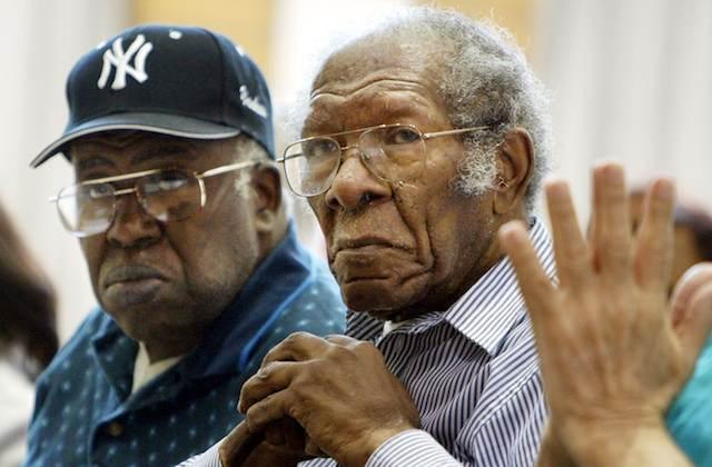 JANETTE: Images of old black men