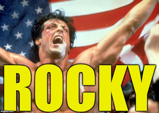 Rocky Victory | ROCKY | image tagged in rocky victory | made w/ Imgflip meme maker