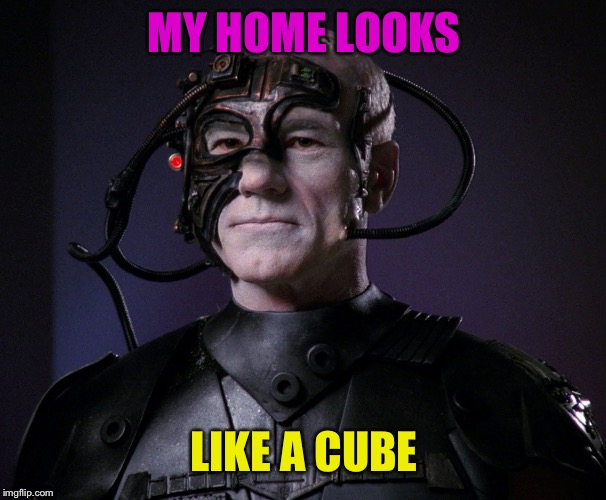 MY HOME LOOKS LIKE A CUBE | made w/ Imgflip meme maker