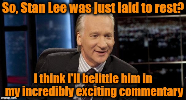 "Note the sarcasm when I say ""incredibly exciting"" 