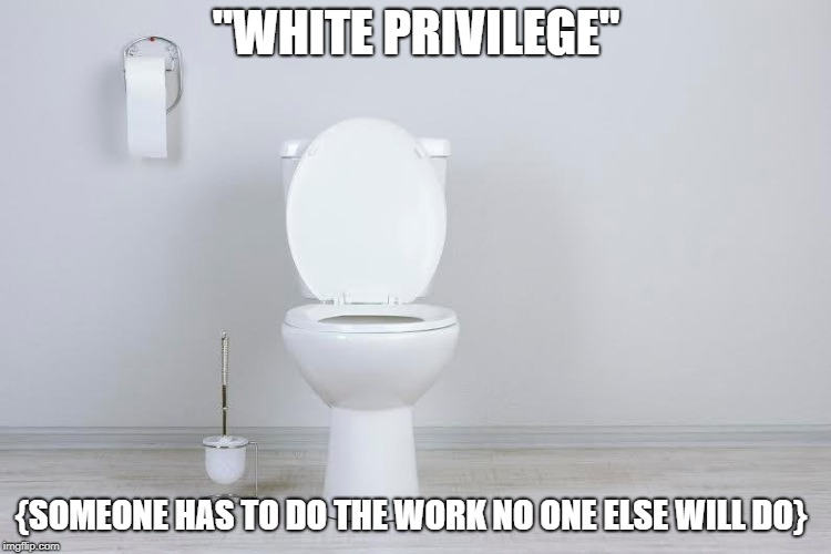 "The water carrier in more ways than one | ""WHITE PRIVILEGE"" {SOMEONE HAS TO DO THE WORK NO ONE ELSE WILL DO} 