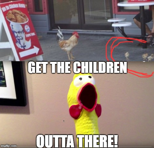GET THE CHILDREN OUTTA THERE! | made w/ Imgflip meme maker