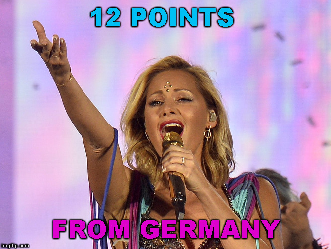 12 POINTS FROM GERMANY | made w/ Imgflip meme maker