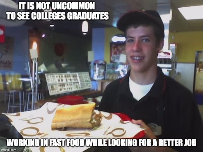 Typical Quiznos Employee Imgflip