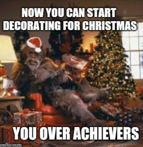Harry Christmas | image tagged in bigfoot,christmas,memes | made w/ Imgflip meme maker