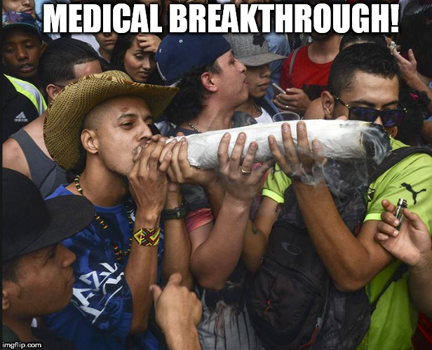 MEDICAL BREAKTHROUGH! | made w/ Imgflip meme maker