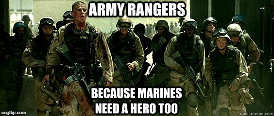 Marines Need Hero's As Well!! | image tagged in military,us military | made w/ Imgflip meme maker