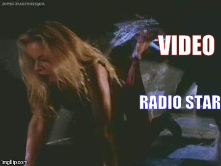 Jessica Collins | VIDEO RADIO STAR | image tagged in jessica collins | made w/ Imgflip meme maker