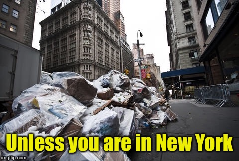 Unless you are in New York | made w/ Imgflip meme maker