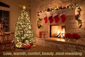 Home | Love, warmth, comfort, beauty...most rewarding | image tagged in warmth,fireplace,christmas,comfort,love,beauty | made w/ Imgflip meme maker