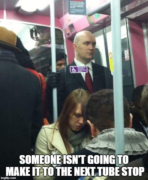 Hitman On The Tube Imgflip