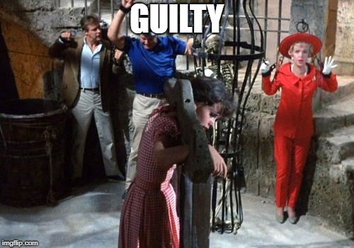 GUILTY | image tagged in gilligan | made w/ Imgflip meme maker