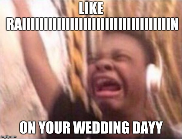 "this is what happens when I listen to ""Ironic"" 