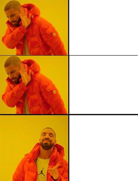 Drake Meme Editor - Luisa Rowe